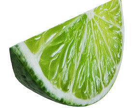 Lime slice 2 3D model
