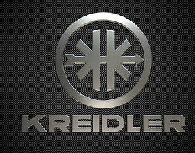 kreidler logo 3D