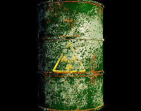 Barrel by mkaplunow 3D asset