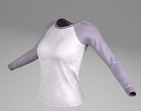 3D asset T Shirts for woman
