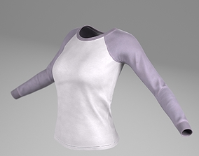 3D asset T Shirts for woman