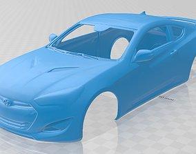 Hyundai Genesis Coupe 2013 Printable Body Car