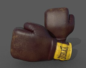 3D boxing gloves clasic