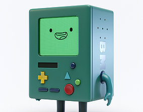 3D Adventure Time BMO