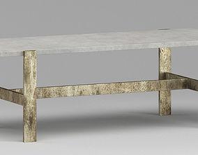 Table 3D model interior dinning