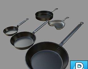 Pans Collection 3D
