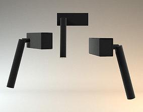 3D Davide Groppi mira LED light