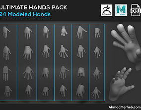 3D Hands Assets