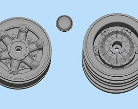 Front and rear car rims printable Car accessories Double
