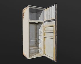 Fridge grocery-display 3D model low-poly PBR
