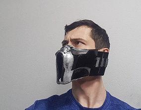 3D print model Sub-Zero mask Mortal Kombat mask