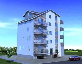 3D house project Building