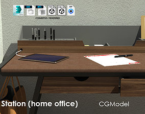 Work station 2 Home office 3D