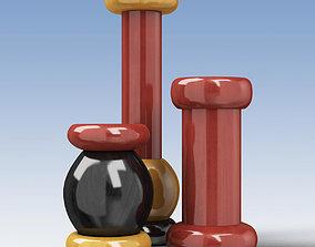Alessi Salt Grinder Pepper Mill 3D model