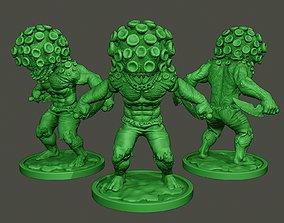 Humanoid virus 0005 3D printable model
