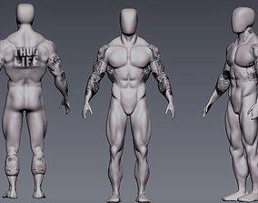 anatomy bodybuilder 3D