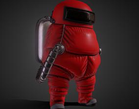 3D asset Among Us Space model