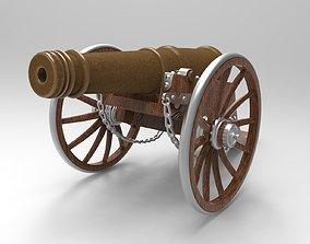 cannon romp 3D model