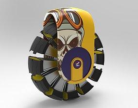 sporty tire 3D model