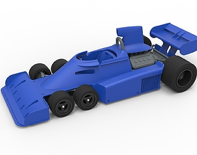 Diecast model Tyrrell P34 Formula 1 Scale 1 to