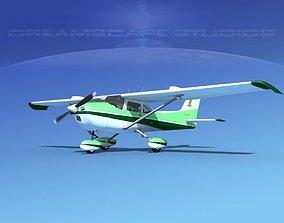 Cessna 172 Skyhawk STOL V07 3D