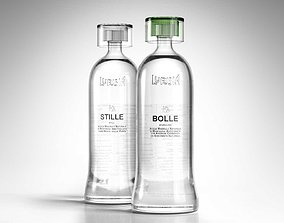 3D market Stille and Bolle Bottled Water
