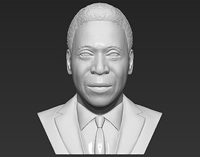 Pele bust 3D printing ready stl obj formats famous