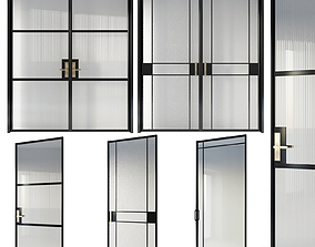 Glamour glass doors collection 3D