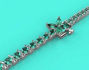 3D print model Bracelet copy Tiffany end Co