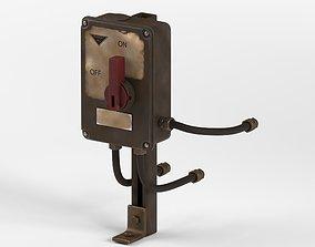 Industrial Power Switch 3D model