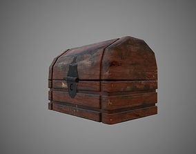 3D model Old simple chest