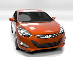 HYUNDAI I40 LOWPOLY 3D model