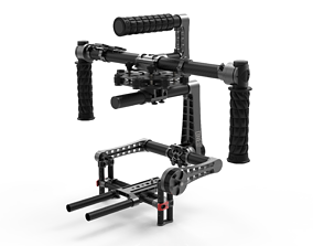 3 Axis Camera Stabilizer Gimbal BeSteady ONE Plus CAD 3D