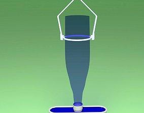 WATER DISPENSER FOR BIRDS 3D print model