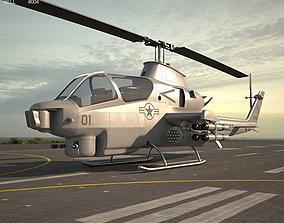 3D Bell AH-1 Cobra