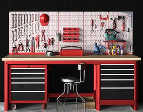 3D model garage tools set 9