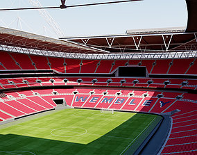 3D model Wembley Stadium - London England