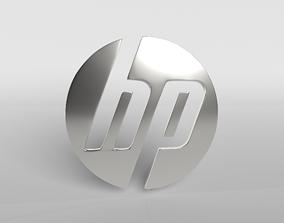 3D asset HP Logo Version1 003