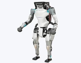 3D model Atlas Robot Boston Dynamics