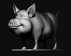 3dmodel cute Pig 3d print model