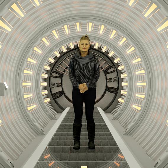 Spaceship tunnel