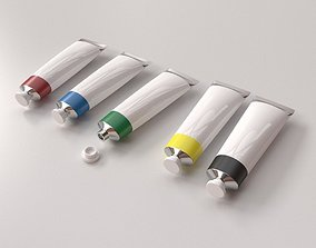 Paint Tube 3D model
