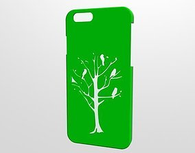 Iphone 6 case Tree 3D printable model