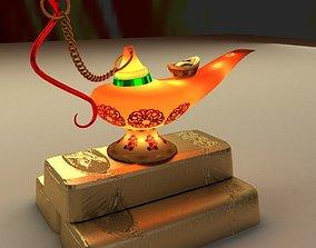 yuanbao 3D model Magic Lamp