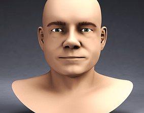 Actor Martin Freeman 3D model