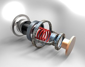 Thermostat switch 3D model