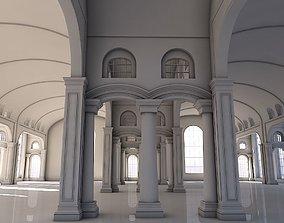 Classic Interior Scene 3D