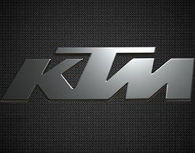 3D ktm logo