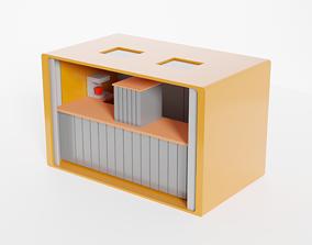 Kiosk 3D asset realtime