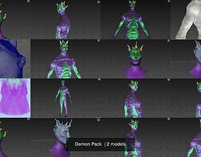 3D model Demon Pack